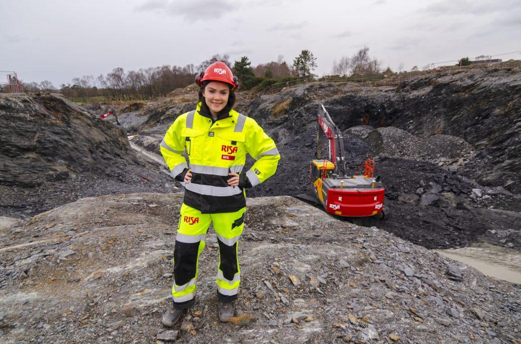 Ann Kristin Håvås stortrives som prosjektingeniør i Risa.