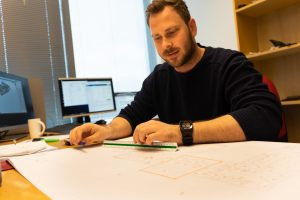 Prosjektingeniør Kjartan Topstad