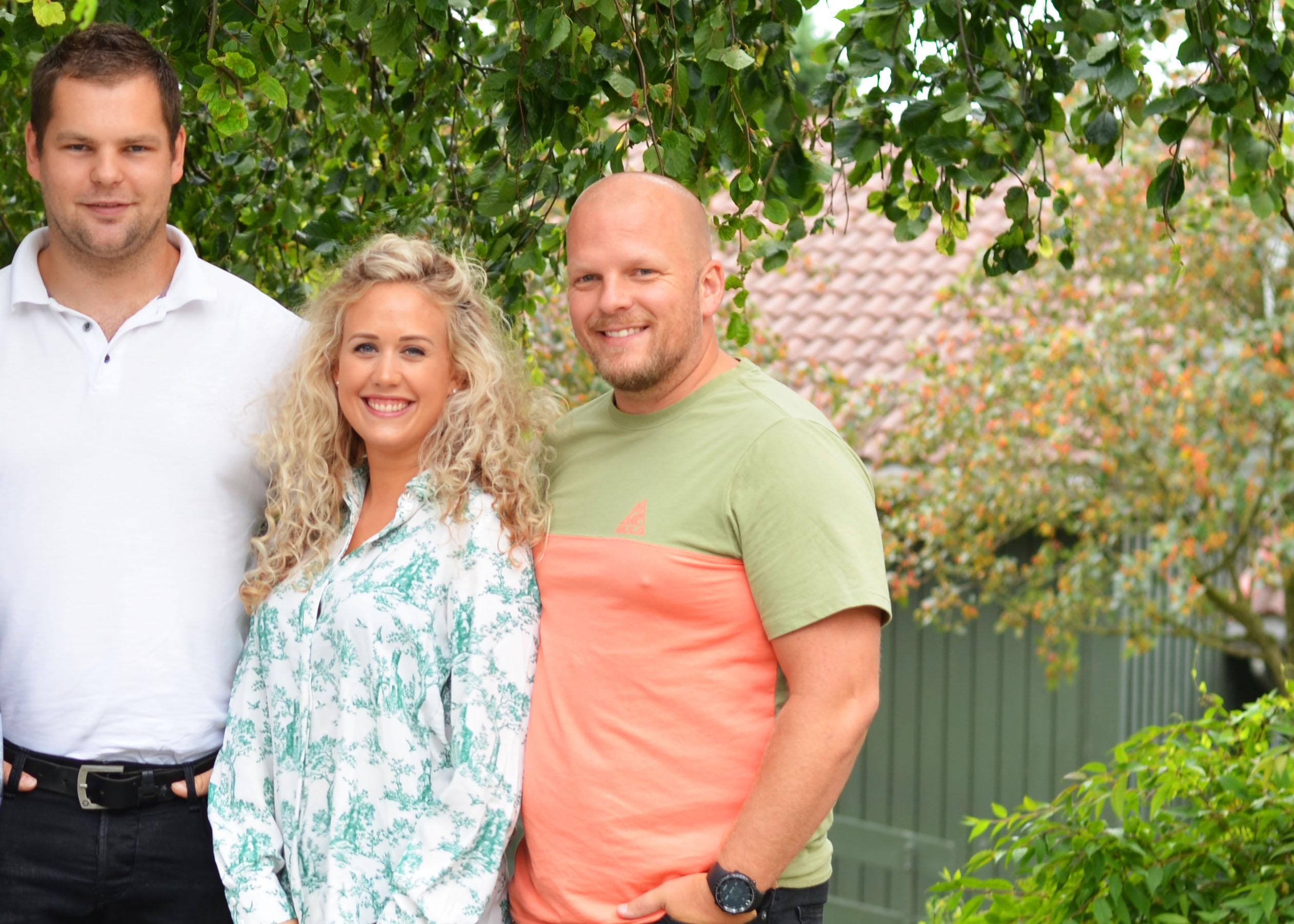 Rekrutteringskontakt i NAV Klepp-Time, Håvard Barene og ungdomsveileder i NAV, Mari Linn Ueland og Tommy Thidesen i NAV Klepp-Time.
