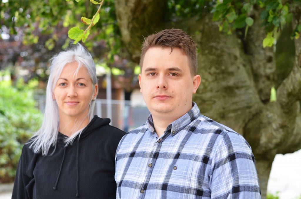 Birgitte Ree og Curt Olav Aanby